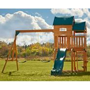 Swing-N-Slide Lindley Wood Complete Swing Set at Sears.com