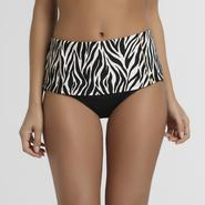 Jaclyn Smith Women's Bikini Bottom - Zebra Stripes at Kmart.com