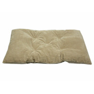 MediumTufted Chenille Mini Plush Corduroy Crate Pad - Beach at Kmart.com