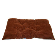 MediumTufted Chenille Mini Plush Corduroy Crate Pad - Sunset at Kmart.com