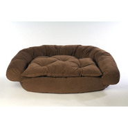 Large Microfiber Comfort Couch - Brown at Kmart.com