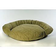 Small Protector Pad Bolster Bed - Sage at Kmart.com