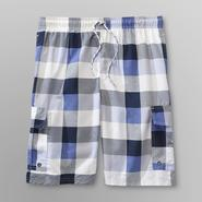 U.S. Polo Assn. Men's Swim Shorts - Plaid at Sears.com