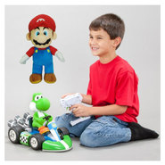 Super Mario Brother Radio Control Kart & Super Mario Brothers Plush Toy Bundle at Kmart.com