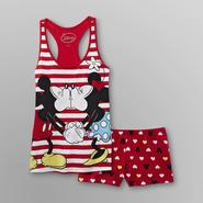 Disney Mickey & Minnie Mouse Women's Short Pajamas at Kmart.com