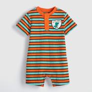 Small Wonders Infant Boy's Henley Romper - Dinosaur at Kmart.com