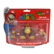 Nintendo Super Mario Brothers Donkey Kong 2-Inch Mini Figures 3-Pack Collection at Kmart.com