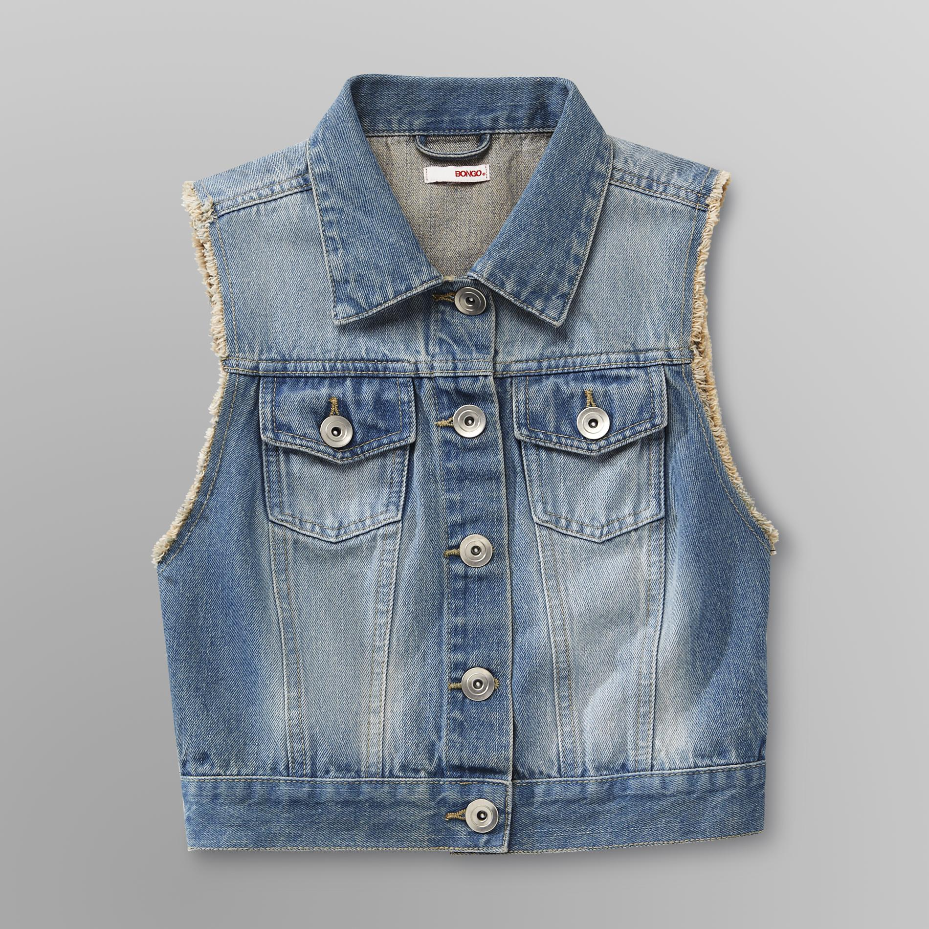 Bongo Junior's Denim Vest - Distressed at Sears.com