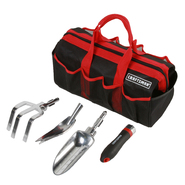 Craftsman 5 pc. Interchangeable Garden Tool Set w/ Tool Bag at Sears.com