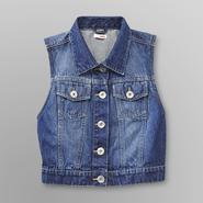 Bongo Junior's Denim Vest - Dark Wash at Sears.com