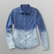 Bongo Junior's Denim Shirt - Open Back at Kmart.com