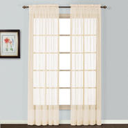 "United Curtain Company Charlotte 56"" x 84"" lace panel at Sears.com"