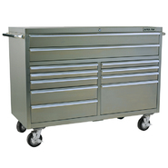 "Viper Tool Storage 60"" 11 Drawer PRO Series 304 Stainless Steel Rolling Cabinet at Sears.com"