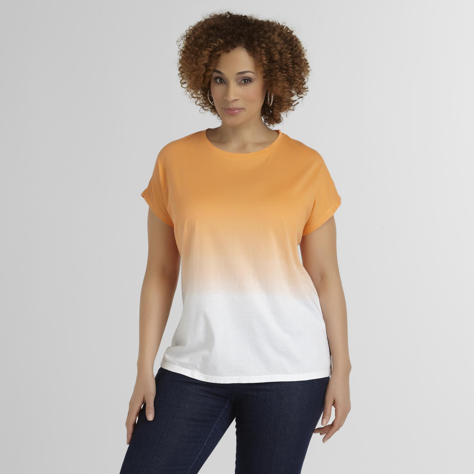 Love Your Style, Love Your Size Women's Plus Top - Ombre at Kmart.com