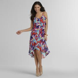Sofia by Sofia Vergara Women's High-Low Dress - Floral at Kmart.com