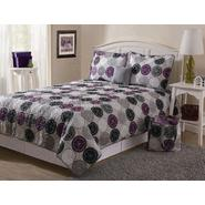 Essential Home Tile Medallion 5 Piece Quilt Set at Kmart.com