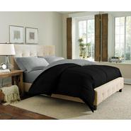 Cannon Solid Reversible Comforter - Black/Silver at Kmart.com