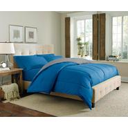 Cannon Solid Reversible Comforter - Denim/Silver at Kmart.com