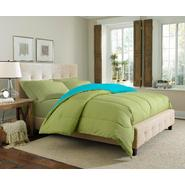 Cannon Solid Reversible Comforter - Pear/Aqua at Kmart.com