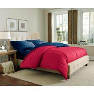 Cannon Solid Reversible Comforter - Red/Navy at Kmart.com