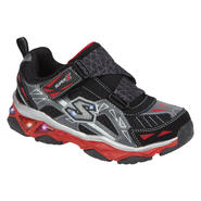 Skechers Boy's Sneaker Galvanized - Black/Red at Sears.com