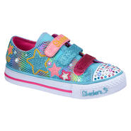 Skechers Girl's Sneaker Triple Up - Blue/Multi at Sears.com