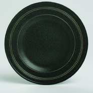 Trade Associates Group Ltd PARAGON BLACK SALAD PLATE SET of 4 at Sears.com