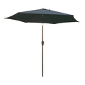 9ft Market Umbrella Black