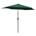 9ft Market Umbrella Green