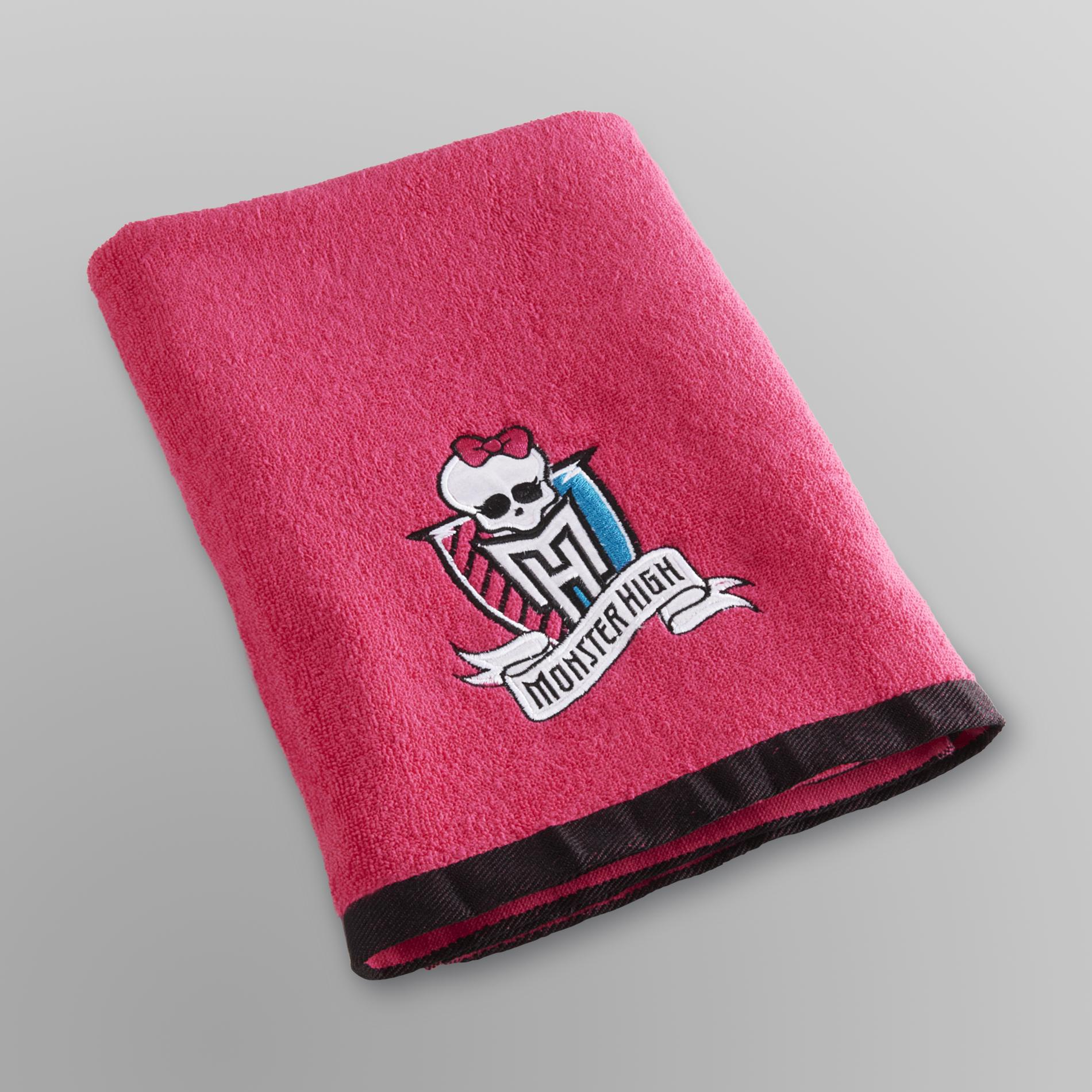 Mattel  Monster High Bath Towel