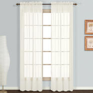 "United Curtain Company Monte Carlo 118"" x 95"" voile window panel pair at Sears.com"