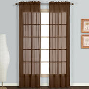 "United Curtain Company Monte Carlo 118"" x 95"" voile window panel pair at Kmart.com"