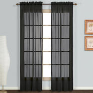 "United Curtain Company Monte Carlo 118"" x 63"" voile window panel pair at Kmart.com"