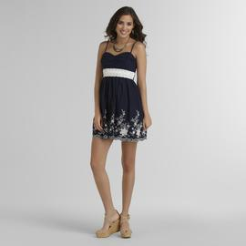 Trixxi Junior's Crochet-Waist Dress at Sears.com