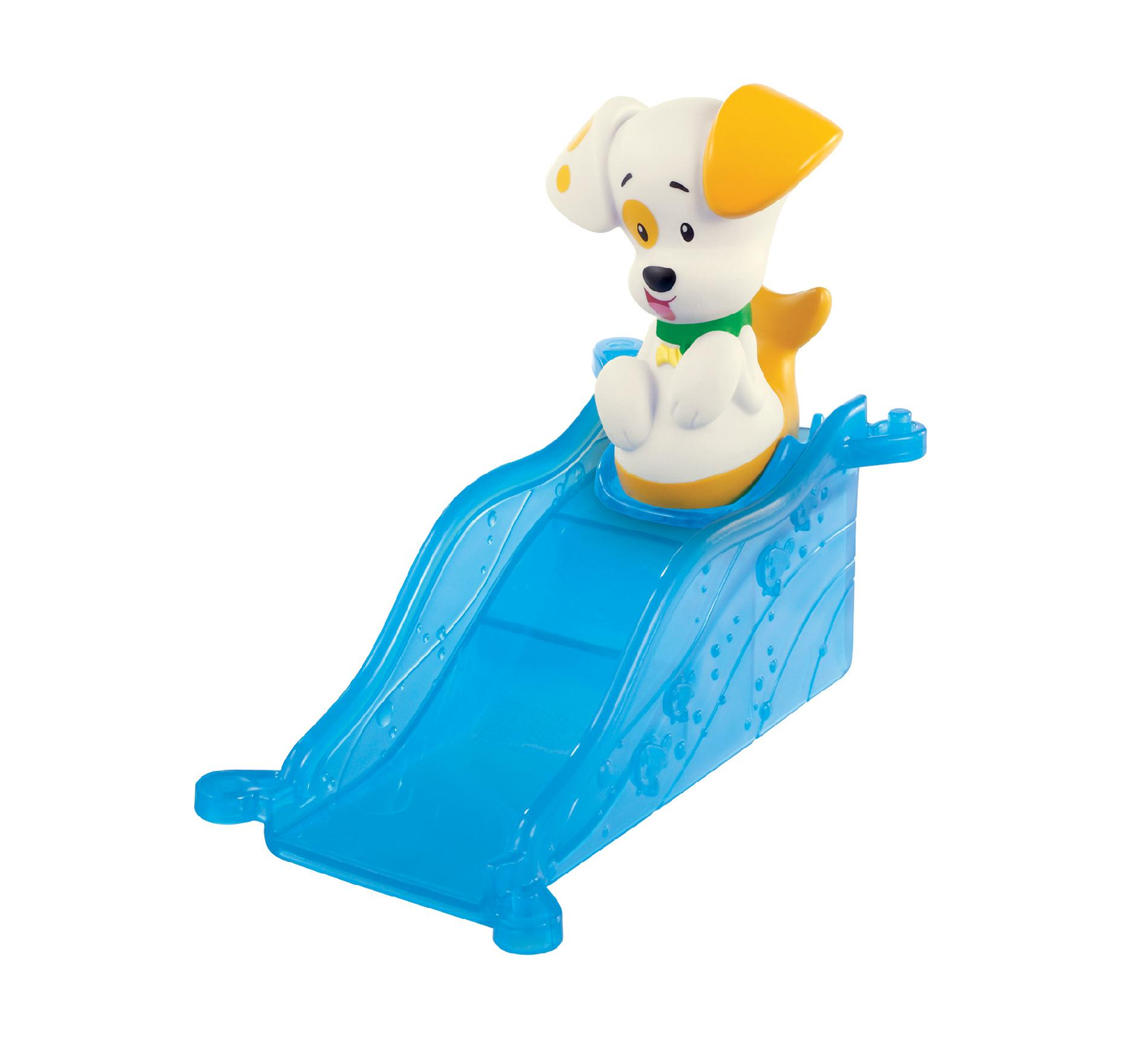 nickelodeon bubble guppies rolling figure bubble puppy u0026 ramp by