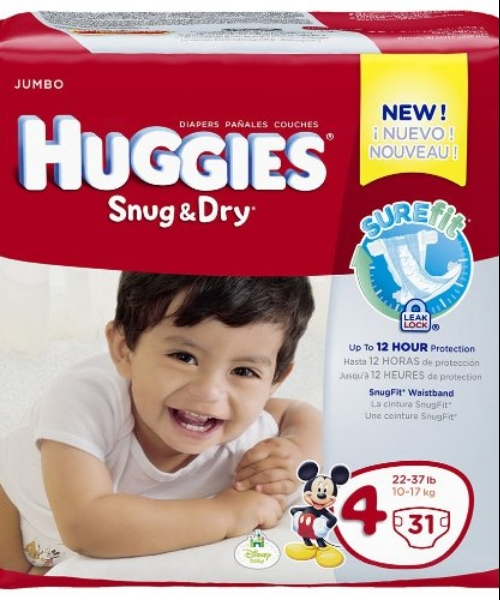 Snug & Dry Diapers Jumbo Pack Size 4 (22-37