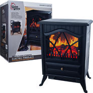 Warm House Retro Floor Standing Electric Fireplace at Sears.com