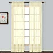 "United Curtain Company Batiste 72"" sheer window panel at Sears.com"