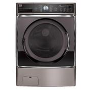 Kenmore Elite 5.2 cu. ft. Front-Load Washer - Metallic Silver at Kenmore.com
