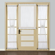 "United Curtain Company Batiste 40"" x 40"" sheer door panel at Sears.com"