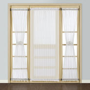 "United Curtain Company Batiste 40"" x 72"" sheer door panel at Sears.com"