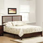 Oxford Creek Queen Size Bed in Brown Cherry at Kmart.com
