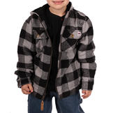 Farmall IH Thermal Lined Flannel Hoody at mygofer.com