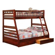 Venetian Worldwide Williams Twin-over-Full Bunk Bed, Cherry at Kmart.com