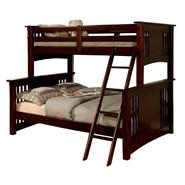 Venetian Worldwide Spring Creek I Twin-over-Full Bunk Bed, Espresso at Sears.com