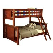 Venetian Worldwide Spring Creek I Twin-over-Full Bunk Bed, Oak at Sears.com