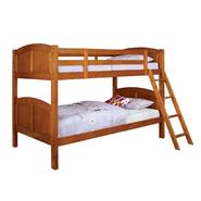 Venetian Worldwide Rexford Twin-over-Twin Bunk Bed, Oak at Kmart.com