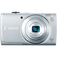 Canon 16.0-Megapixel PowerShot A2600 Digital Camera - Silver at Kmart.com