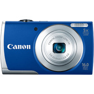 Canon 16.0-Megapixel PowerShot A2600 Digital Camera - Blue at Kmart.com