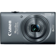 Canon 16.0-Megapixel PowerShot ELPH 130 IS Digital Camera - Gray at Kmart.com